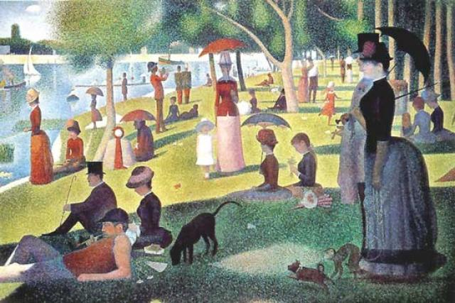 TARDE DE DOMINGO - George Pierre Seurat