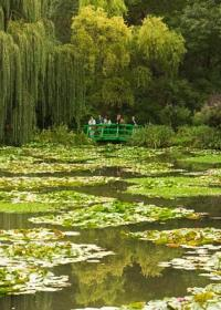 PAISAJE EN GIVERNY - Claude Monet
