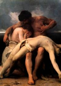 EL DESPERTAR DE LA TRISTEZA - William-Adolphe Bouguereau